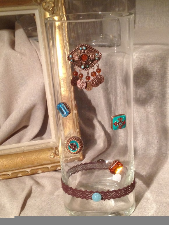 vase bijoux