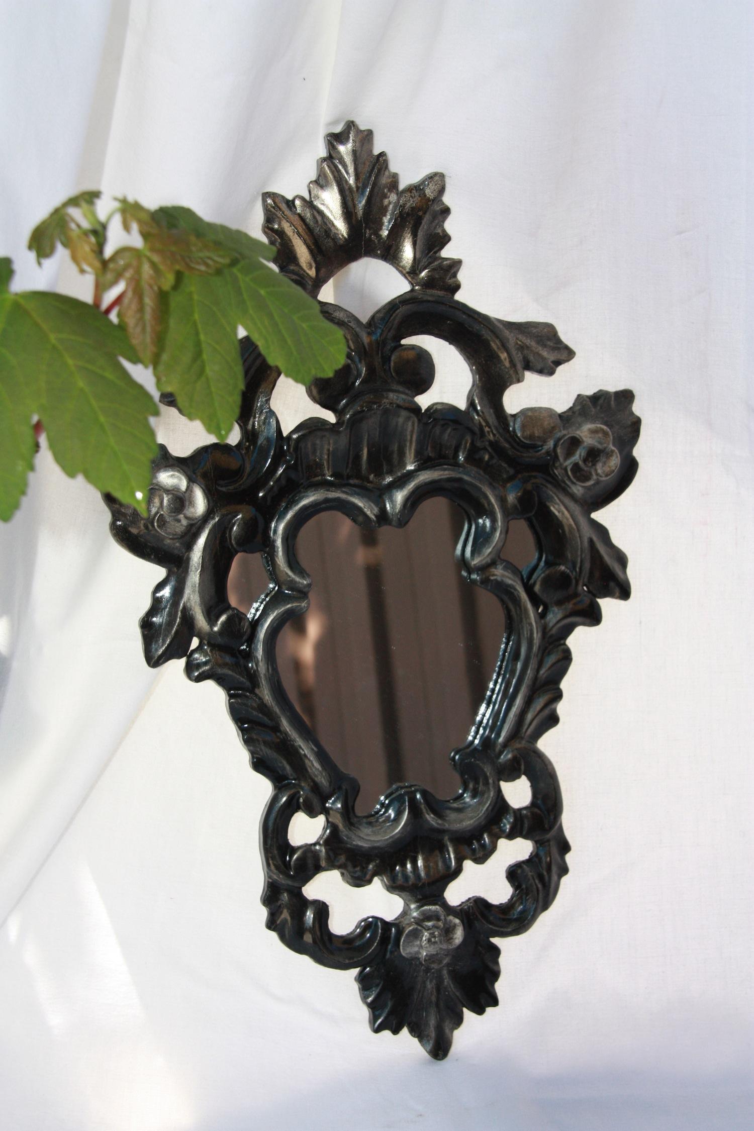 Miroir baroque noir - Miroir baroque noir pas cher ...