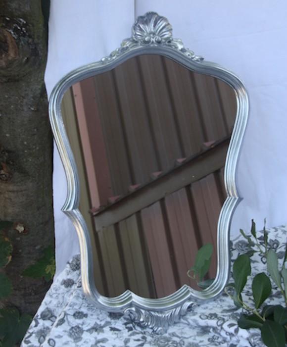 miroir chromé