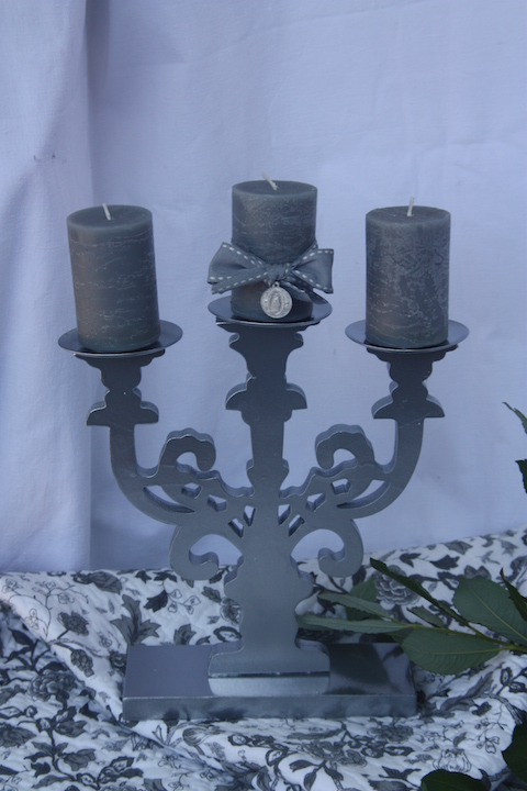 chandelier chromé