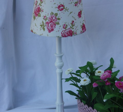 lampe fleurie